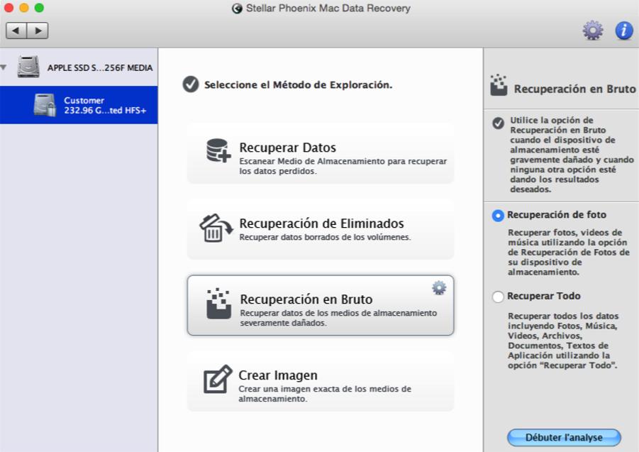como recuperar archivos despues de formatear mac