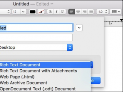 Convert Rich Text to Plain Text in Mac