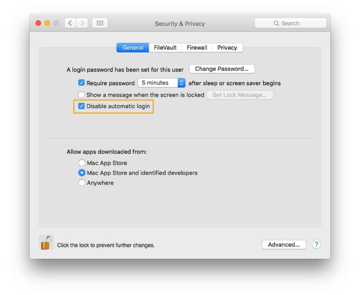 security tips for Mac