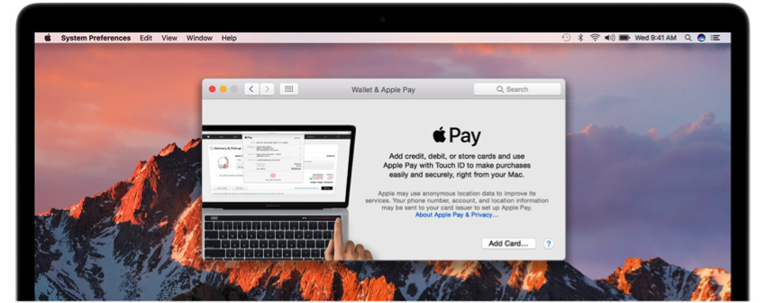 Apple Pay on Mac